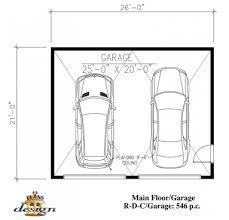 garage plan g53 g53 1 garage double garage plans design