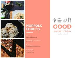 festival brochure template food festival brochure templates by canva