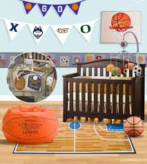 bedroom captivating basketball themed bedroom decoration using