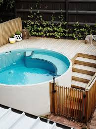 the best swimming pool designs for small backyards u2014 homely