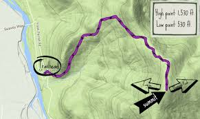 Opal Creek Oregon Map Mount Pisgah Summit Hike Oregon