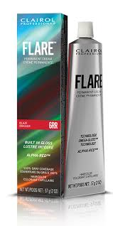 clairol professional flare hair color chart clairol professional flare pemanent hair color collection