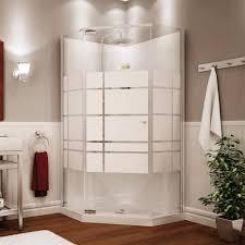 bathroom fascinating stainless frame fiberglass door shower