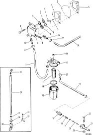 mercury outboard fuel pump diagram on mercury images tractor