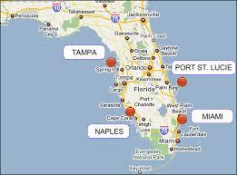 port st fl map port
