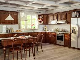 brown stained kitchen cabinets new light brown 10x10in nutmeg kitchen cabinets