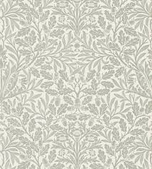 William Morris Wallpaper by William Morris 216042 Pure Acorn Morris Pure Wallpaper
