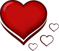 clipart heart outline clip art library