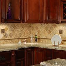 Brown Subway Travertine Backsplash Brown Cabinet by Best 25 Kitchen Backslash Ideas Ideas On Pinterest Back Slash