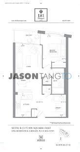 One Bloor Floor Plans 181 Davenport Toronto Condos Lofts