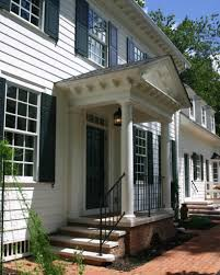 100 portico on colonial house front porch or portico what