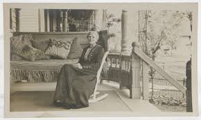 Old Rocking Chair On Porch Huge Porch Swing Pillows Cushions 1900 U0027s Photo Old Woman In