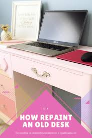 how to paint an old desk step by step diy for your home