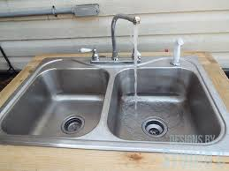 kitchen faucet splitter build an outdoor sink part two connecting the water supply