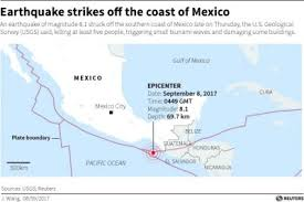 us geological earthquake map mexico earthquake claims 61 lives as nation picks through rubble