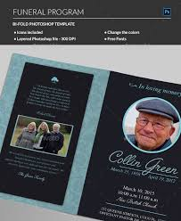 make your own funeral program 20 modern and professional free psd funeral program templates