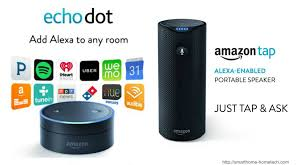amazon tap and echo dot banner smarthome hometech 2 smarthome