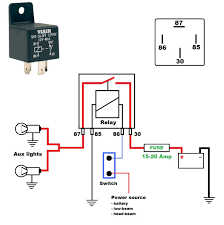rib relay wiring diagram to lamphus 12v 40a off road atvjeep led