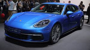 porsche 4 door sports car geneva 2017 porsche panamera sport turismo motor1 com photos