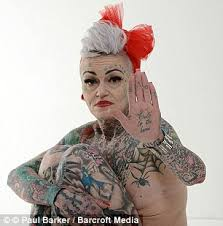 amanda brignall with 80 of her body covered in tattoos gets