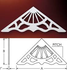 fypon gable pediments gable decorations gable