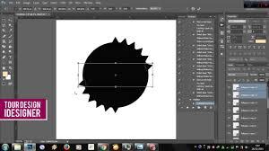 membuat garis 3d di photoshop membuat shape dengan photoshop membuat desain vintage indonesia