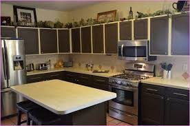 kitchen paint colors with oak cabinets and white appliances home