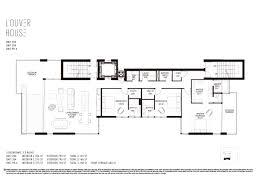 louver house miami beach floor plans