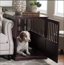 newport pet crate end table pet crate end table dog kennel cat cage indoor wood furniture brown