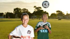 Georgia travel academy images Townsville junior footballers harry robinson and georgia keioskie