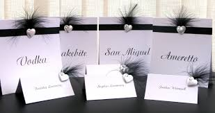 Wedding Table Cards Wedding Table Card Guest Names Tags Impressive Personalized