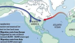 map of america 20000 years ago europeans came to america 20 000 years before columbus david
