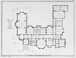 large estate house plans large country estate england floor plans castles palaces