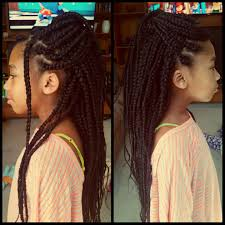 Hairstyles With Jumbo Braiding Hair Long Feather Tip Box Braids Using Xpressions Braiding Hair Color
