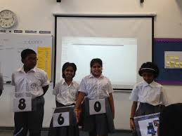 maths class human place value system five come alive