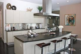 kitchen with stainless steel backsplash ellajanegoeppinger com
