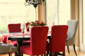 red stretch dining chair covers sure fit harlow stretch dining