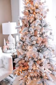 Inspirational Christmas Ornaments Incredible Design Rose Gold Christmas Tree Artificial Mini Skirt