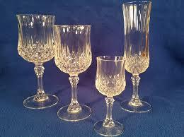 mikasa crystal wine glass gold rim crustpizza decor attractive