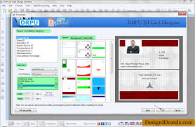 id cards maker software design identity cards for staff or students