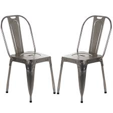 outdoor chairs simple retro metal chair vintage metal dining