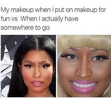 Eyeliner Meme - 45 memes about makeup that ll make you laugh so hard you ll smudge