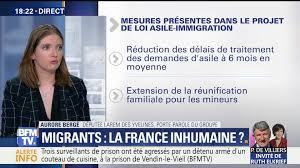 bfmtv cuisine migrants la inhumaine