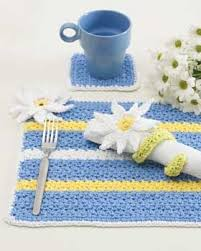 table mats and coasters 287 best crochet placemats images on pinterest hand crafts knit
