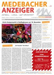 Mvz Bad Fredeburg Medebacher Anzeiger Ausgabe Vom 15 11 2017 Nr 41 By Brilon