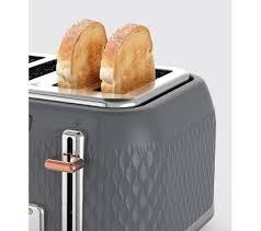Asda Toasters Buy Breville Curve Vtt912 4 Slice Toaster Granite Grey Free
