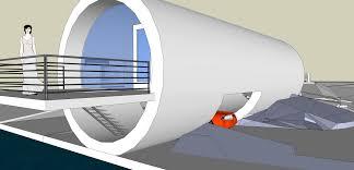 miwang design pipe beach house