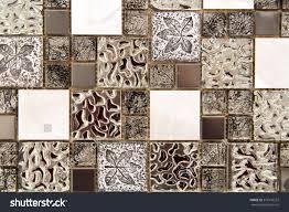 Decorative Tiles For Kitchen - ceramic decorative tiles different textures covering stock photo