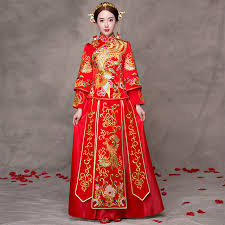 aliexpress com buy traditional chinese wedding gown dress women