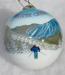 beaver creek ski ornament
